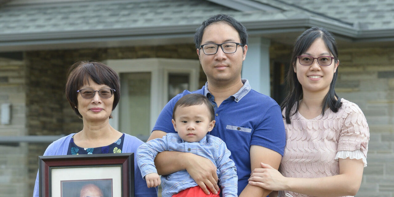 Kenny Cheng and family
