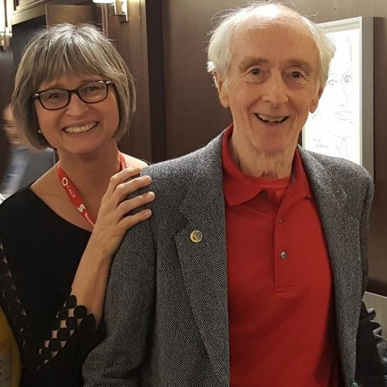 Colin Bain and Lesley Mansfield