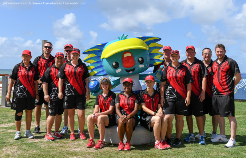 Team Canada at 2018 Commonwealth Games