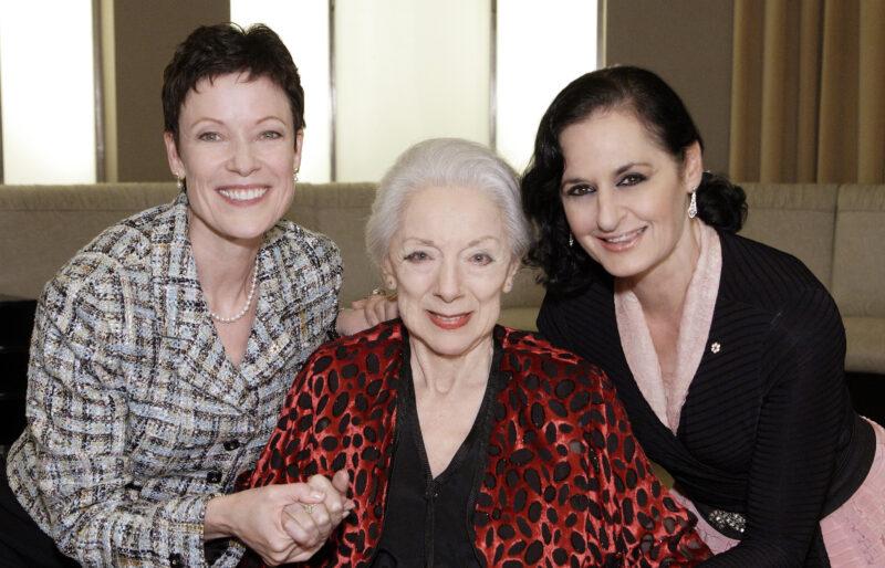 Karen Kain, Celia Franca and Veronica Tennant.