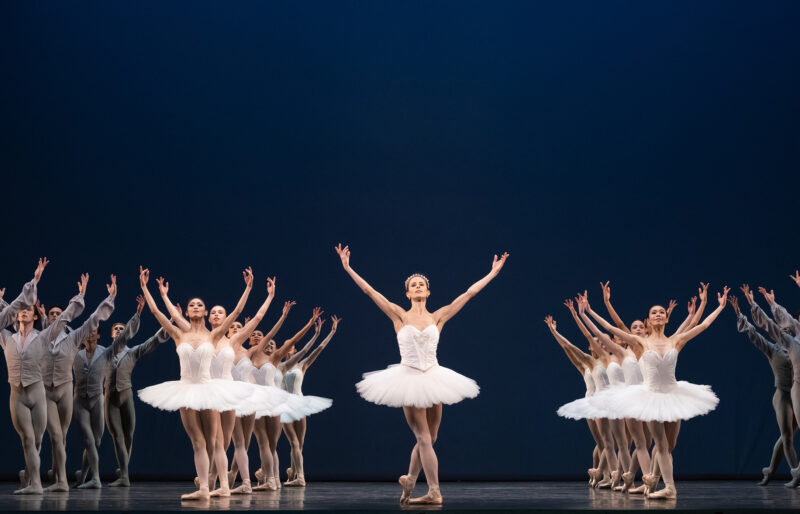 Heather Ogden with Artists of the Ballet in Etudes.