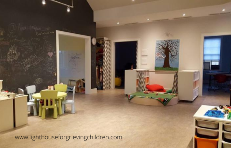 Interior at Lighthouse for Grieving Children