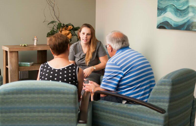 staff comfort hospice family