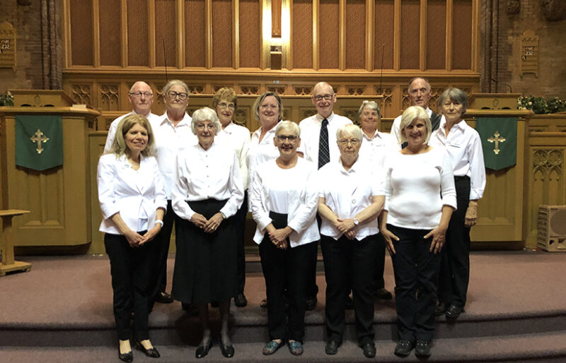 We are so grateful for this amazing group of volunteer ushers