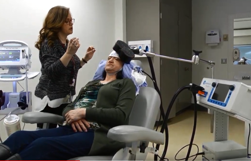 Brain stimulation is making a difference for patients with depression.