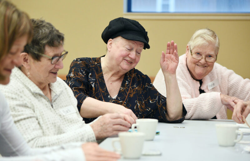 Women at Day Hospice